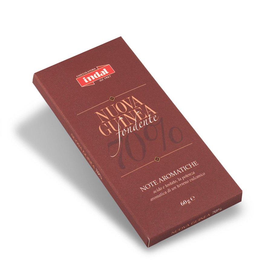 """Tavoletta cioccolato fondente """"Nuova Guinea"""" 70% – 60g"""