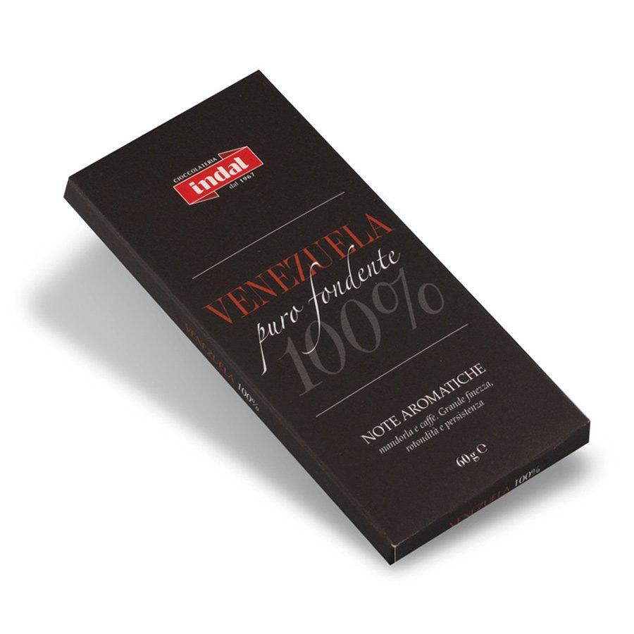 "Tavoletta cioccolato puro fondente ""Venezuela"" 100% – 60 gr"